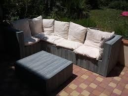 canap en palette en bois ides de meuble de jardin en palette de bois galerie dimages
