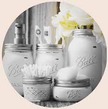 ball mason bathroom set ball mason jars handmade gifts home decor