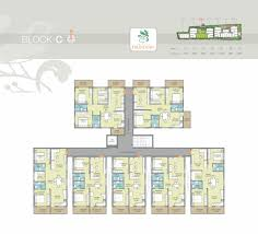 typical floor plan frondoso adithya constructions elan white field banguluru