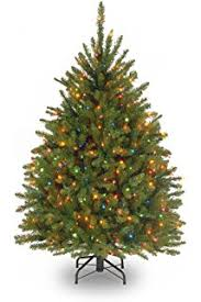 6 5 pre lit heavily flocked pine medium artificial