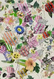 modern floral wallpaper bold flower wallpaper 52dazhew gallery