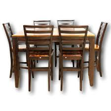 counter height dining room sets counter height dining table w 6 chairs upscale consignment