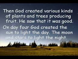 what day did god create light god created our world youtube