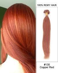 keratin extensions 130 copper nail tip u tip 100 remy hair keratin hair