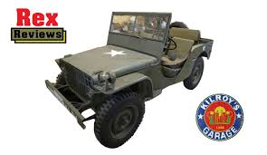 ford pygmy perfect jeep restoration start to finish rex reviews youtube