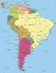 America Latina Map by Mapa America Latina My Blog