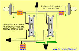 crabtree double light switch wiring diagram circuit and