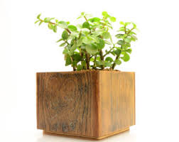 Indoor Planter Pots by Square Planter Etsy