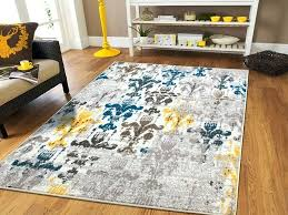 Grey And White Kitchen Rugs Yellow Gray Rug Fetchmobile Co