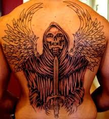 35 cool cryptic grim reaper tattoos