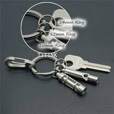 small key rings images 10pcs 0 39 quot 10mm pure titanium small key ring micro titanium ti jpg