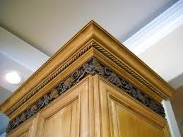 Kitchen Molding Cabinets by Cabinet Moldings Add Crown Molding To Kitchen Cabinets Voluptuo Us
