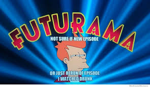 futurama uses the fry meme to start their new episode weknowmemes