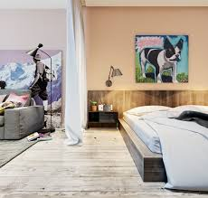 Design Home Art Studio Living And Sleeping Areas Exist In Harmony In These Comfortable