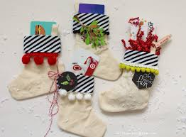 stocking gift card holder easy christmas gift a and a