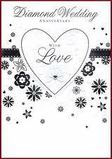 60th Wedding Anniversary Greetings Animals Anniversary Cards And Stationery Ebay