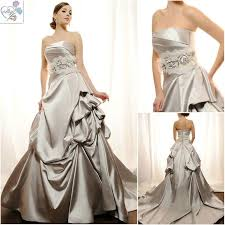 silver wedding dresses 204 best silver grey wedding dresses images on
