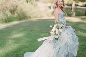 blue wedding dresses a truly special something blue your wedding dress onefabday