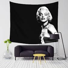 chambre marilyn comwarm vintage godness marilyn motif série polyester