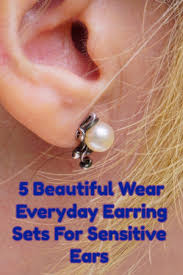 sensitive earrings hypoallergenic earrings for sensitive ears totally cool picks