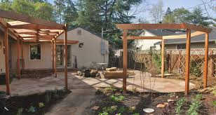 Pergola Ideas For Patio by Download Backyard Pergolas Garden Design