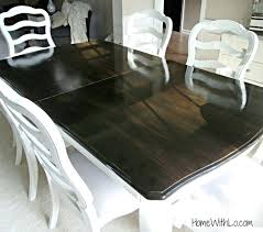 staining a table top staining veneer table top oak tutorial refinishing wood paint stain