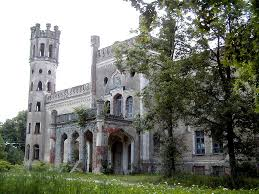 Wyndclyffe Mansion Odziena Manor Ruins Vidzeme Latvia Built In 1850 Abandoned In