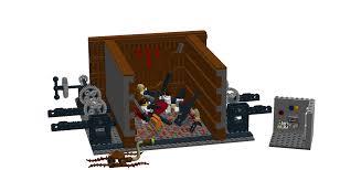 lego ideas star wars trash compactor scene