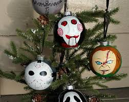 horror ornament etsy