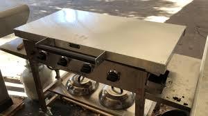 blackstone griddle surround table blackstone 36 griddle custom lid aluminum suitable for