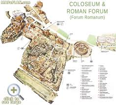 Italy Map Cities Forum Romanum Best Historical Ancient Sights Rome Top Tourist