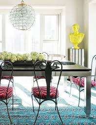 Turquoise Bistro Chair 229 Best Glamclectic Dining Rooms Images On Pinterest Dining