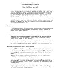 Ideas Of What Is The by Writing Thematic Statements What Is A Theme Anyway