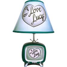 vintage i love lucy tv lamp from ubiquities on ruby lane