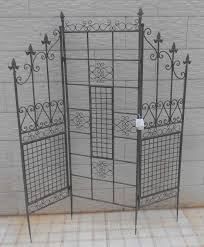 screen room divider wrought iron handicraft metal folding screen room divider buy