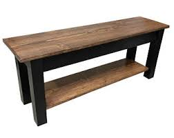 farmhouse bench etsy