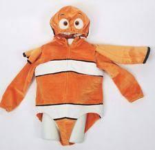 Nemo Halloween Costume 2t Disney Finding Nemo Costume Ebay
