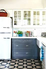 backsplash for small kitchen blue subway tile backsplash sea accents and kitchen ideas with white