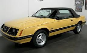 1983 mustang glx convertible value medium yellow 1983 ford mustang glx convertible mustangattitude