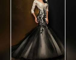 black and white wedding dresses https img0 etsystatic com 143 0 13055065 il 340x