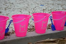 personalized buckets how to make personalized sand buckets sew woodsy