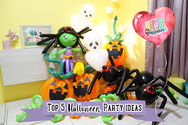 halloween party ideas top 5 halloween party ideas u2013 face painting balloon sculpting