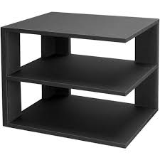 Desk Organizer Shelf 3 Tier Desktop Corner Shelf Black In Home Decor