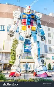 November Tokyo by Tokyo Japan November 272015 Gundam Statue Stock Photo 346005509