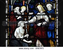 Bartholomew The Blind Man Stained Glass Stained Glass Window Jesus Healing The Sick Jesus