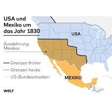 Map Snap Usa Mexiko Krise Jetzt Zeigt Sich Was Trump Unter U201ethe Art Of The