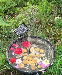 Decorative Pond Kingda Outdoor Solar Fountain Pump Waterfall For Pool Garden Pond
