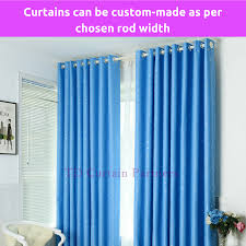 Standard Curtain Length South Africa by Blockout Sky Blue Stars Kids Room Bedroom Curtains Fabric Sheer