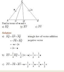 vector geometry solutions examples videos