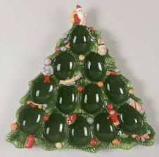 buy spode tree green trim tree shaped deviled egg plate
